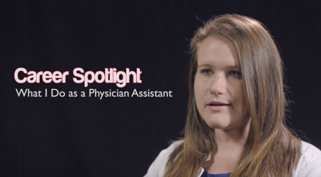 What I Do as a Physician Assistant – Lisa Cunningham