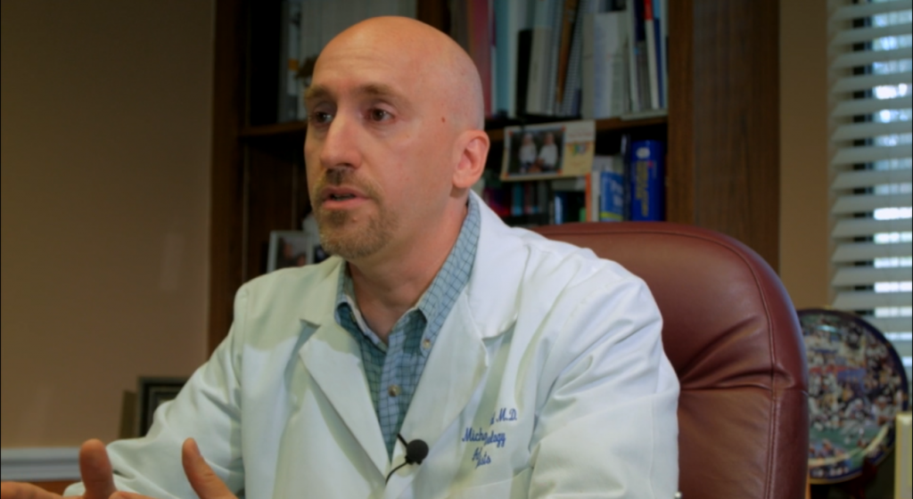 Who is Dr. Michael Desautel of Advanced Urology Specialists