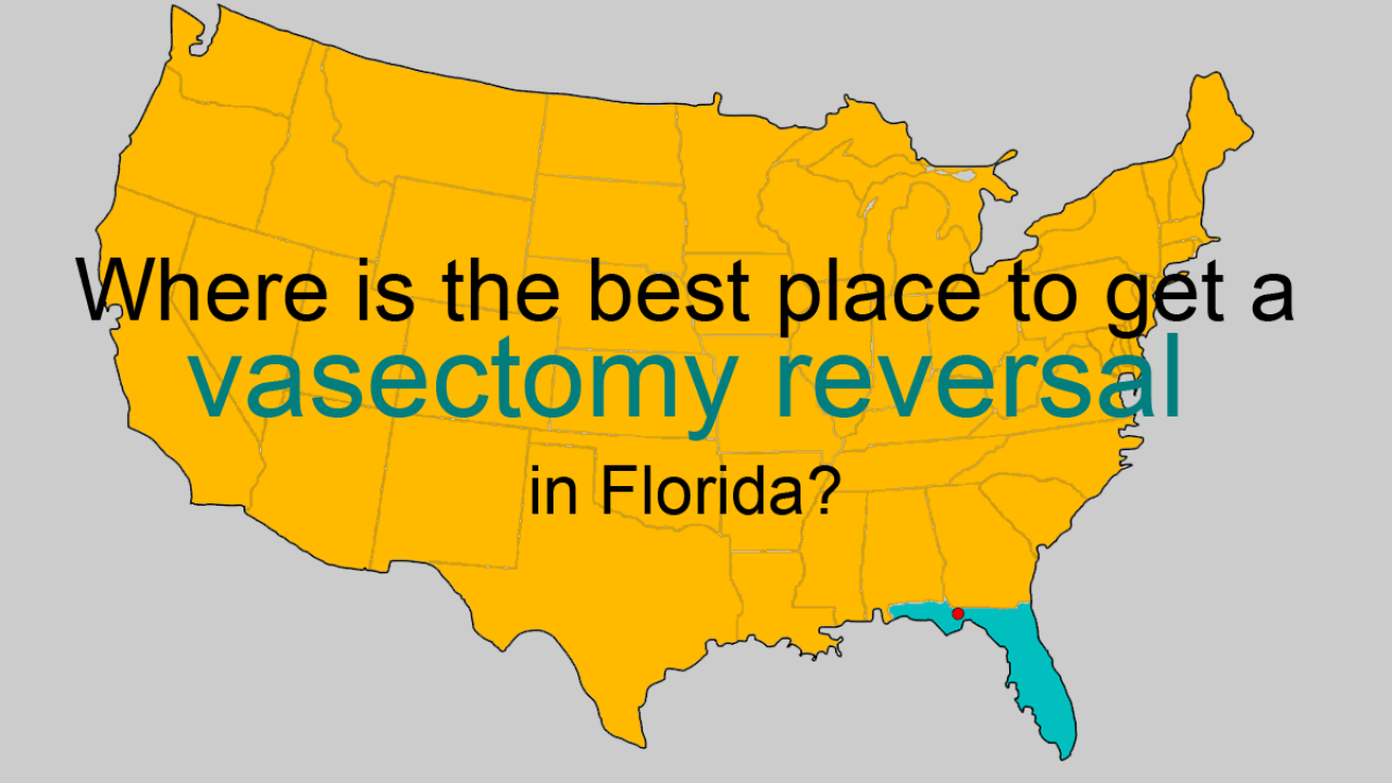 Where is the best place to get a vasectomy reversal in