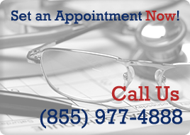 Set an Appointment. Call us now at (855) 977-4888
