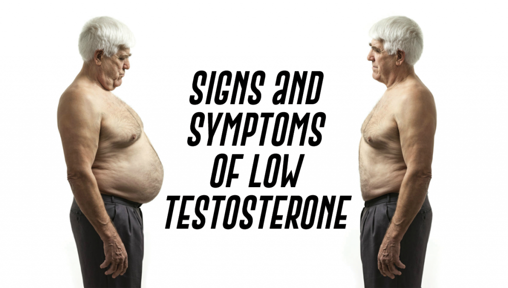 Signs and Symptoms of Low Testosterone