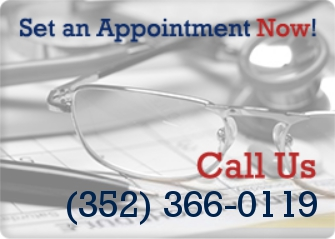 Set an Appointment. Call us now at (352) 366-0119