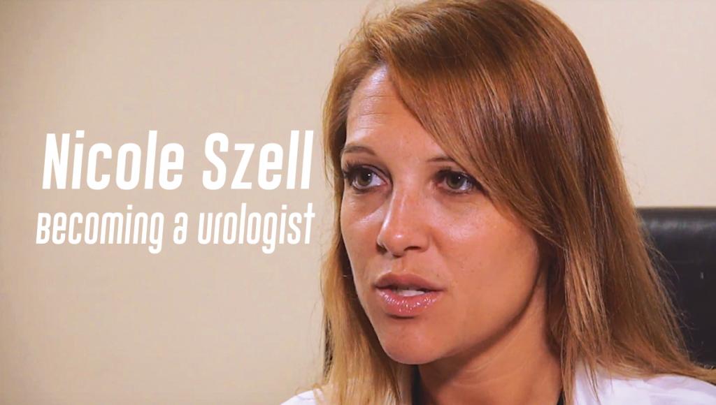 Nicole Szell Becoming a Urologist
