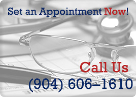 Set an Appointment. Call us now at (904) 606–1610