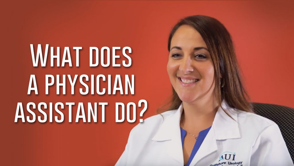 What does a physician assistant do?