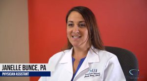Janelle Bunce: Physician Assistant