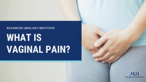 What is vaginal pain?