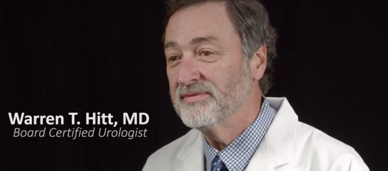 Getting to Know The Doctor: Warren T. Hitt, MD