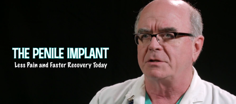 The Penile Implant, Less Pain and Faster Recovery Today – Dr Martin Dineen