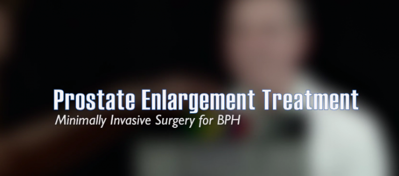 Prostate Enlargement Treatment with Dr. Beiswanger