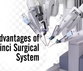 What are the advantages of the da Vinci surgical system?