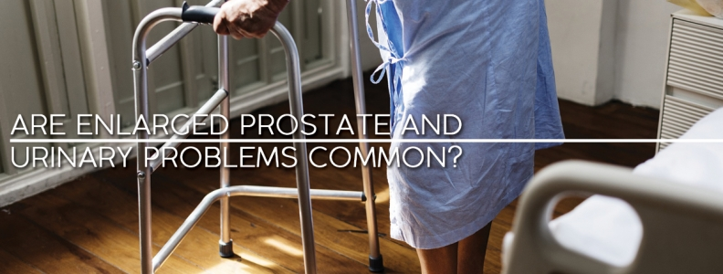 Are Enlarged Prostate and Urinary Problems Common?