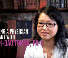 Becoming a Physician Assistant with Quynh-Dao Tonnu, PA-C