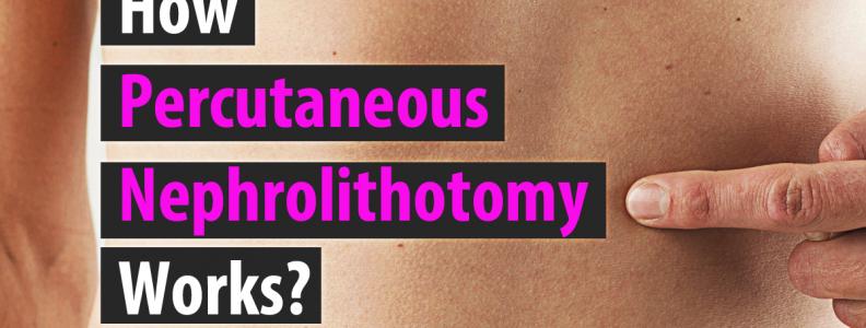 How Percutaneous Nephrolithotomy Works?