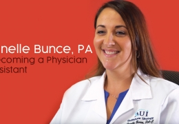 Advanced Urology Institute News: Janelle Bunce, PA – Becoming a Physician Assistant