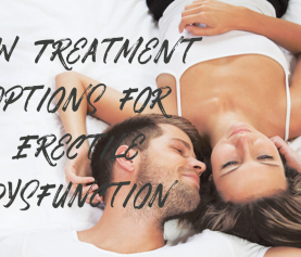 New Treatment Options for Erectile Dysfunction