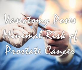 Vasectomy Poses Minimal Risk of Prostate Cancer