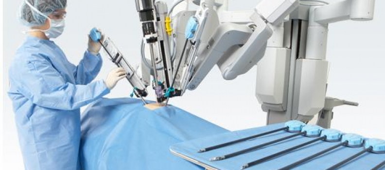 The da Vinci Robotics System by Dr. Karavadia